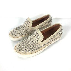 Rebecca minkoff studded slip on shoes